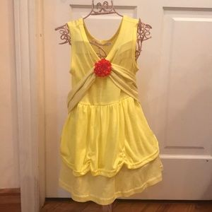 Other - Brand new little girls Belle princess dress! 🌹✨
